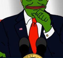 Donald J. Trump Rare Pepe! Sticker