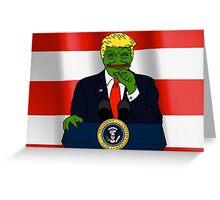 Donald J. Trump Rare Pepe! Greeting Card