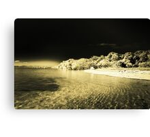 Darkened Island Canvas Print
