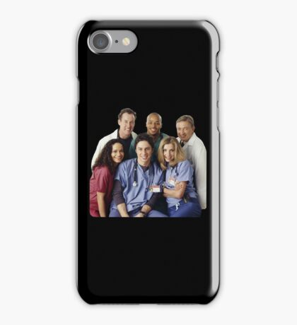 Scrubs Cast (early years) iPhone Case/Skin