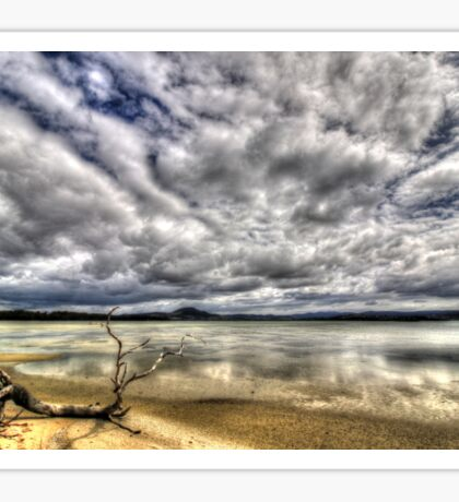 5 Mile Beach - Hobart - Tasmania  Sticker
