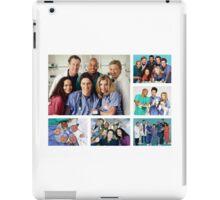 Scrubs Cast Photoshoot Collage iPad Case/Skin