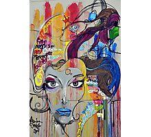 Colorful Graffiti Street Art Photographic Print