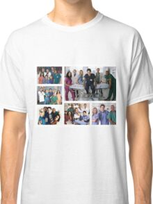 Scrubs Cast Photoshoot Collage Classic T-Shirt