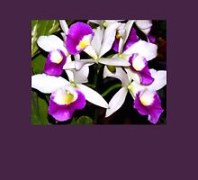 Purple and white pond orchids Unisex T-Shirt