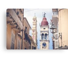 Old Town Spring Canvas Print