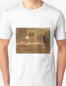 Vintage famous art - Carl Larsson - Getting Ready For A Game Unisex T-Shirt