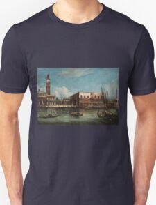 Vintage famous art - Canaletto Antonio - Palazzo Ducale  Unisex T-Shirt