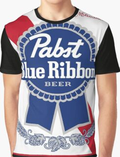 Pabst Blue Ribbon Graphic T-Shirt