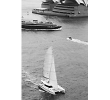 Harbour Traffic Photographic Print