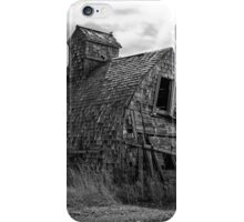 Grain Shed - BW iPhone Case/Skin
