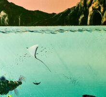 Birds of The Sea by Leslie Berg Sticker