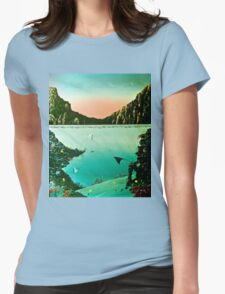 Birds of The Sea by Leslie Berg Womens Fitted T-Shirt