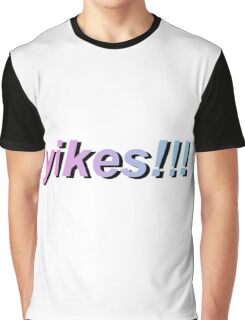 yikes!!! gradient Graphic T-Shirt