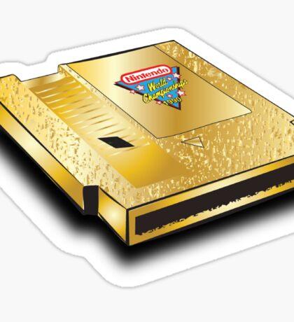 nintendo worlds  championship 1990 cartridge Sticker