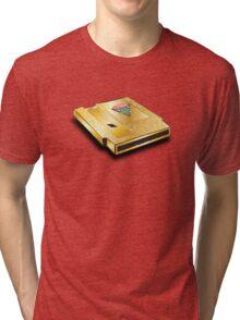 nintendo worlds  championship 1990 cartridge Tri-blend T-Shirt