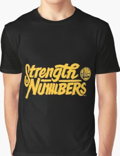 Golden State Warriors | Strength In Numbers | 2016 Graphic T-Shirt