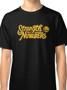 Golden State Warriors | Strength In Numbers | 2016 Classic T-Shirt