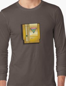 Rare gold nintendo world championships 1990 video game Long Sleeve T-Shirt