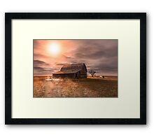 Peace on the Prairies Framed Print
