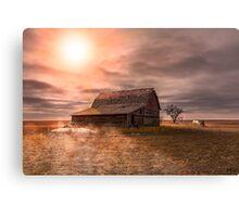 Peace on the Prairies Canvas Print