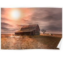Peace on the Prairies Poster