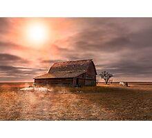 Peace on the Prairies Photographic Print
