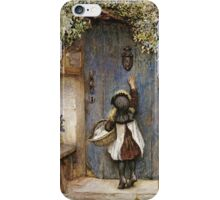 Vintage famous art - Arthur Hopkins - The Visitor  iPhone Case/Skin