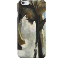 Vintage famous art - Arthur Garfield Dove - Yellow Blue And Violet iPhone Case/Skin