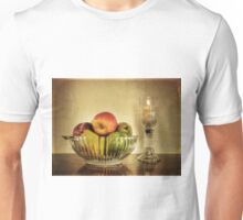 Bowl of Fruit & Candle Unisex T-Shirt