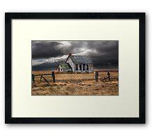 Prairie Education Framed Print