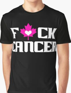 F*CK CANCER (black) Graphic T-Shirt