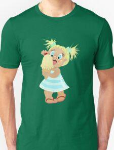 Summer Little Girl and Ice Cream T-Shirt
