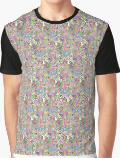 Zentangle Trippy Mushroom Graphic T-Shirt