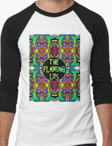 The Flaming Lips - Psychedelic Pattern 1 Men's Baseball ¾ T-Shirt