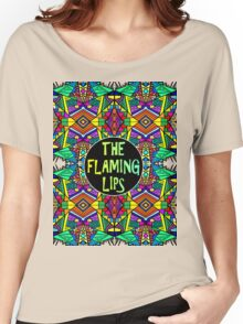 The Flaming Lips - Psychedelic Pattern 1 Women's Relaxed Fit T-Shirt