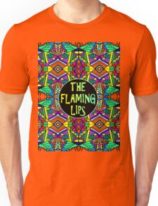 The Flaming Lips - Psychedelic Pattern 1 Unisex T-Shirt
