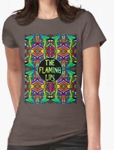 The Flaming Lips - Psychedelic Pattern 1 Womens Fitted T-Shirt