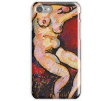 Vintage famous art - Alexei Jawlensky  - Schlafende (Sleeping Woman) 1910 iPhone Case/Skin