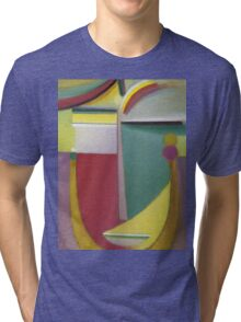 Vintage famous art - Alexei Jawlensky  - Abstract Head Inner Vision Tri-blend T-Shirt