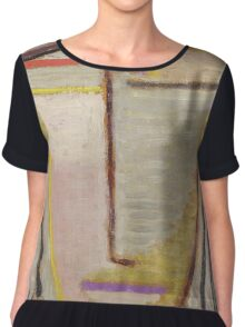 Vintage famous art - Alexei Jawlensky  - Abstract Head Composition No 2  Winter  Chiffon Top