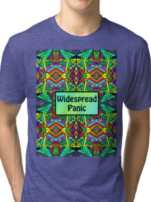 WP - Widespread Panic - Psychedelic Pattern 2 Tri-blend T-Shirt