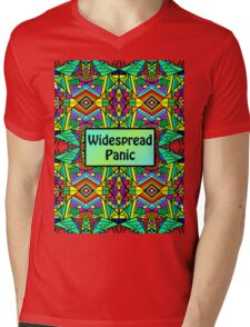 WP - Widespread Panic - Psychedelic Pattern 2 Mens V-Neck T-Shirt