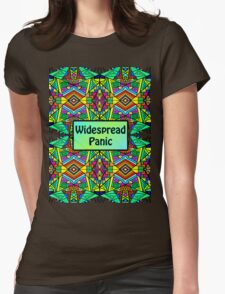 WP - Widespread Panic - Psychedelic Pattern 2 Womens Fitted T-Shirt