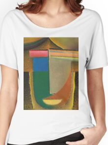 Vintage famous art - Alexei Jawlensky  - Abstract Head Women's Relaxed Fit T-Shirt