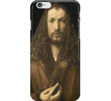 Vintage famous art - Albrecht Durer - Self Portrait iPhone Case/Skin
