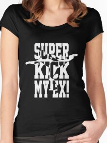 Superkick My Ex! (w) Women's Fitted Scoop T-Shirt