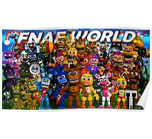 FNaF World - Update 2 Poster