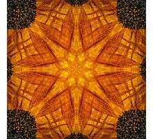 Kaleidoscopic sunflower Photographic Print