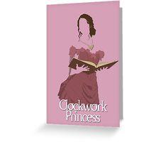 "Theresa ""Tessa"" Gray   Clockwork Princess Greeting Card"